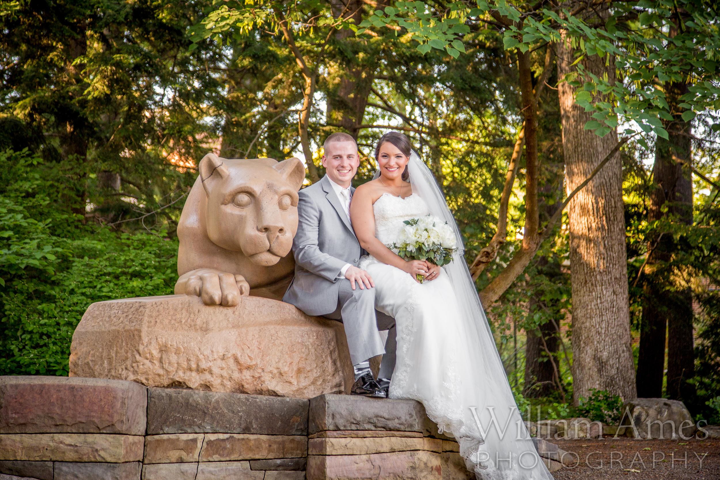 Penn State Wedding Photo